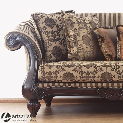 Prześliczna Stylowa Sofa 3 Osobowa 65054 Kanapa Antyczna Artseries