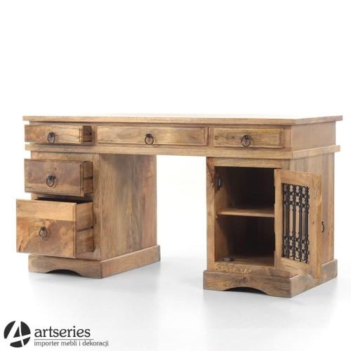Świeże Kolonialne, mangowe biurko do gabinetu, pracowni 102109 - ArtSeries OZ57