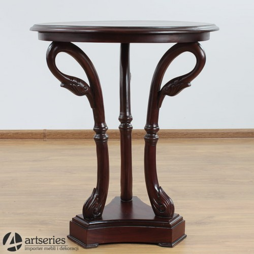 Drewniany Stolik Stół Kawowy Stylowe Meble Rzeźbione Artseriespl