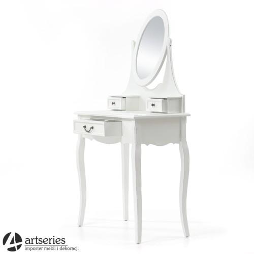 Stylowa Biała Toaletka Z Serii White Classic 72311 Do Sypialni
