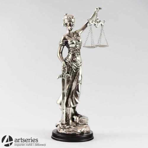Srebrna Figurka Temidy Bogini Sprawiedliwości 888931