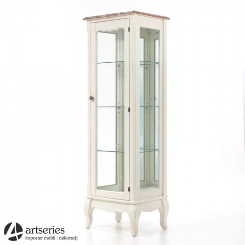 Zaawansowane Śliczna witryna prowansalska 120031 serwantka szklana - ArtSeries YK41