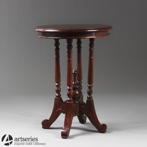 Prosty Stolik Z Drzewa Do Kawy Herbaty 117015 Stół Kwietnik