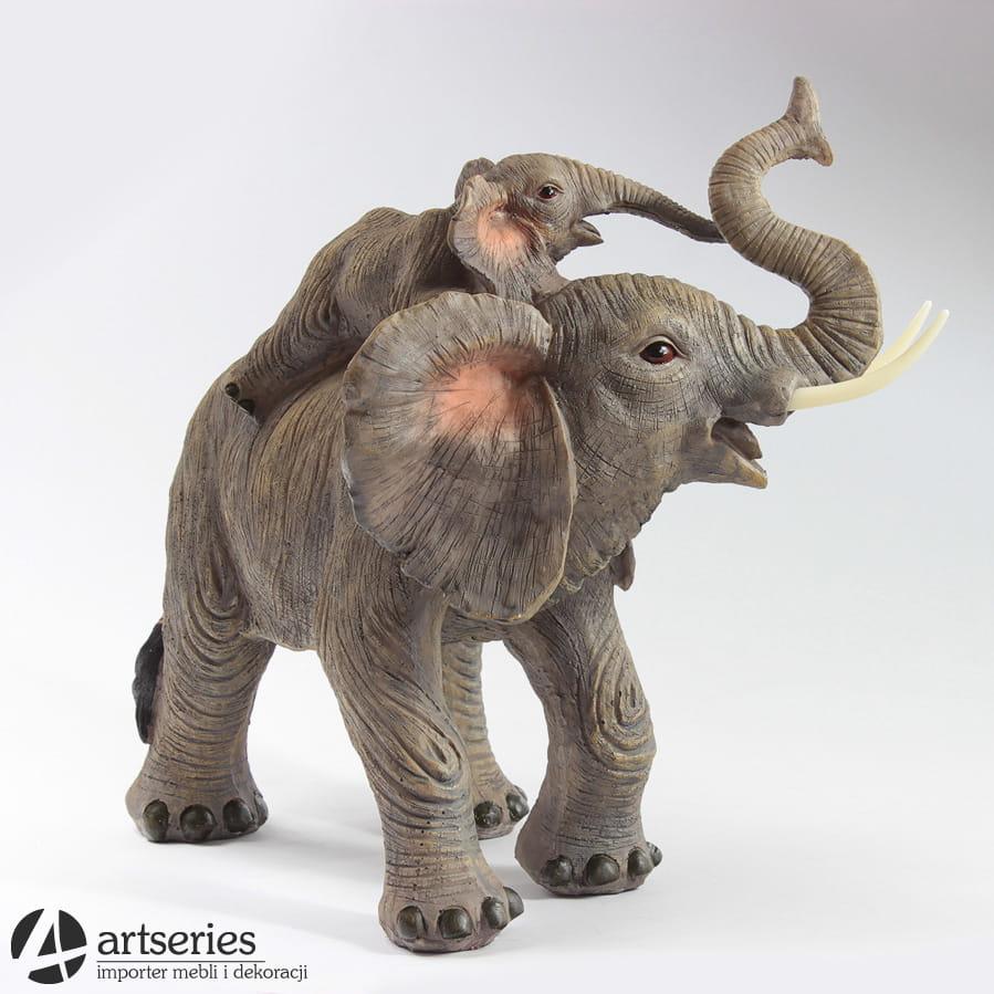 Para Słoni Figurka Dekoracyjna 555148