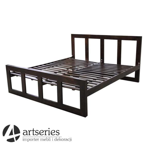 łóżko Kolonialne Do Sypialni Drewniane I Bardzo Solidne 87531
