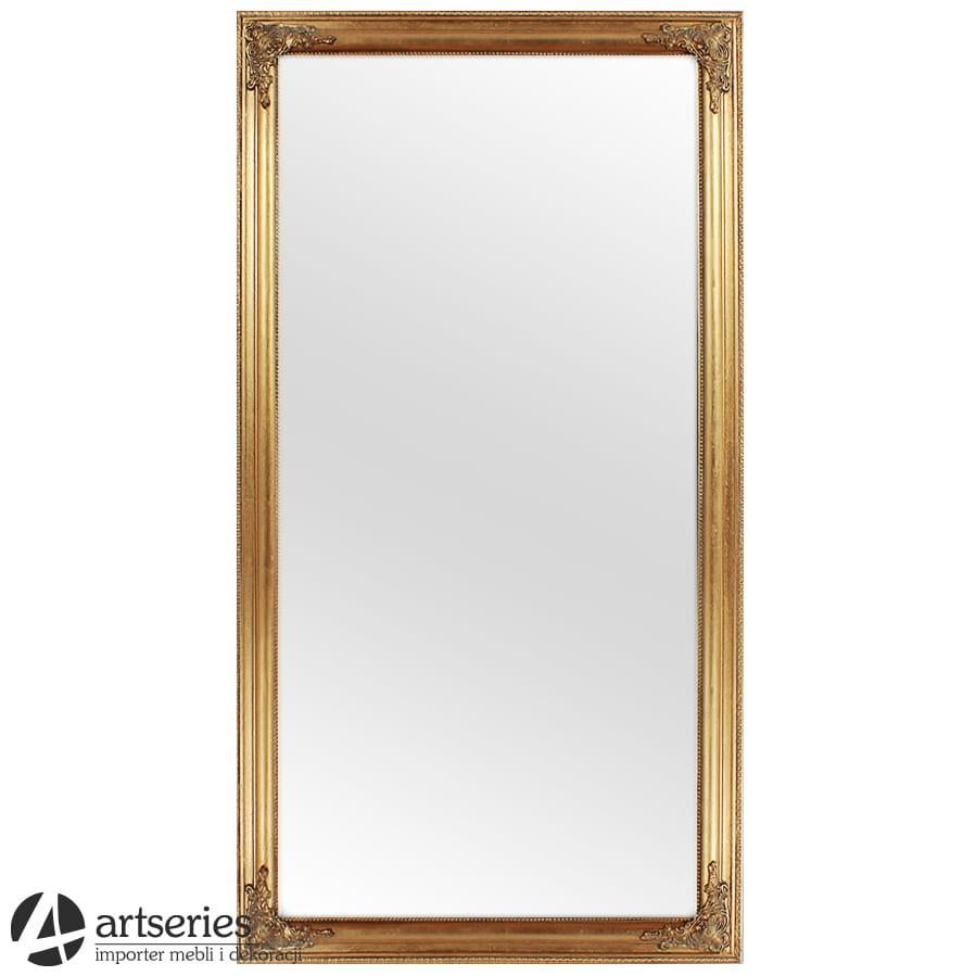 Dodatkowe Stylowe złote lustro 54825 - lustra złote i srebrne - ArtSeries.pl YW66