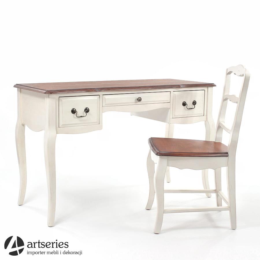 Unikalne Komplet mebli prowansalskich 120008-120024 - biurko z krzesłem XL64